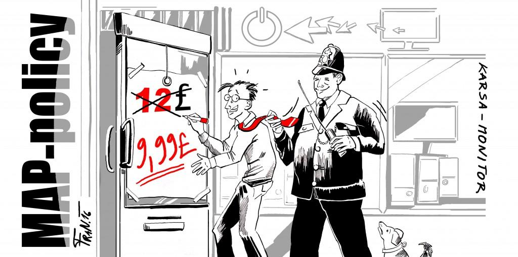 Politika doporučené inzerované ceny je jako strážník, který drží ochrannou ruku nad vašimi cenami