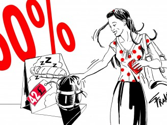 Zákazník versus prodejce: Povánoční slevy v praxi